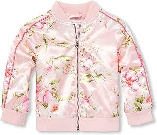 Baby Girls Novelty Printed Bomber Jacket