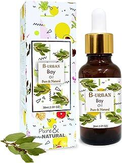 B-URBAN Bay Oil 100% Natural Pure Undiluted Uncut Essential Oil 30ml
