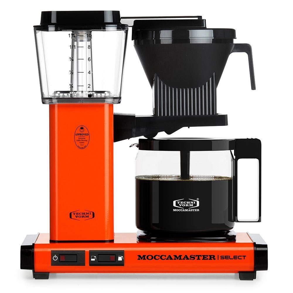Moccamaster - Filtro para cafetera naranja: Amazon.es: Hogar