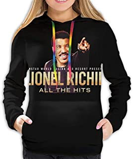 Lionel Richie Woman Casual Hooded Pullover Hoodies 3D Printed Athletic Pullover Sweatshirt Pockets