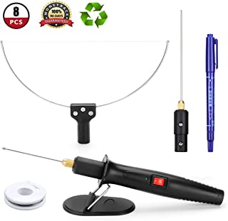 GOCHANGE 3 in 1 Foam Cutter Electric Cutting Machine Pen Tools Kit, 100-240V /18W Styrofoam Cutting Pen with Electronic Voltage Transformer Adaptor