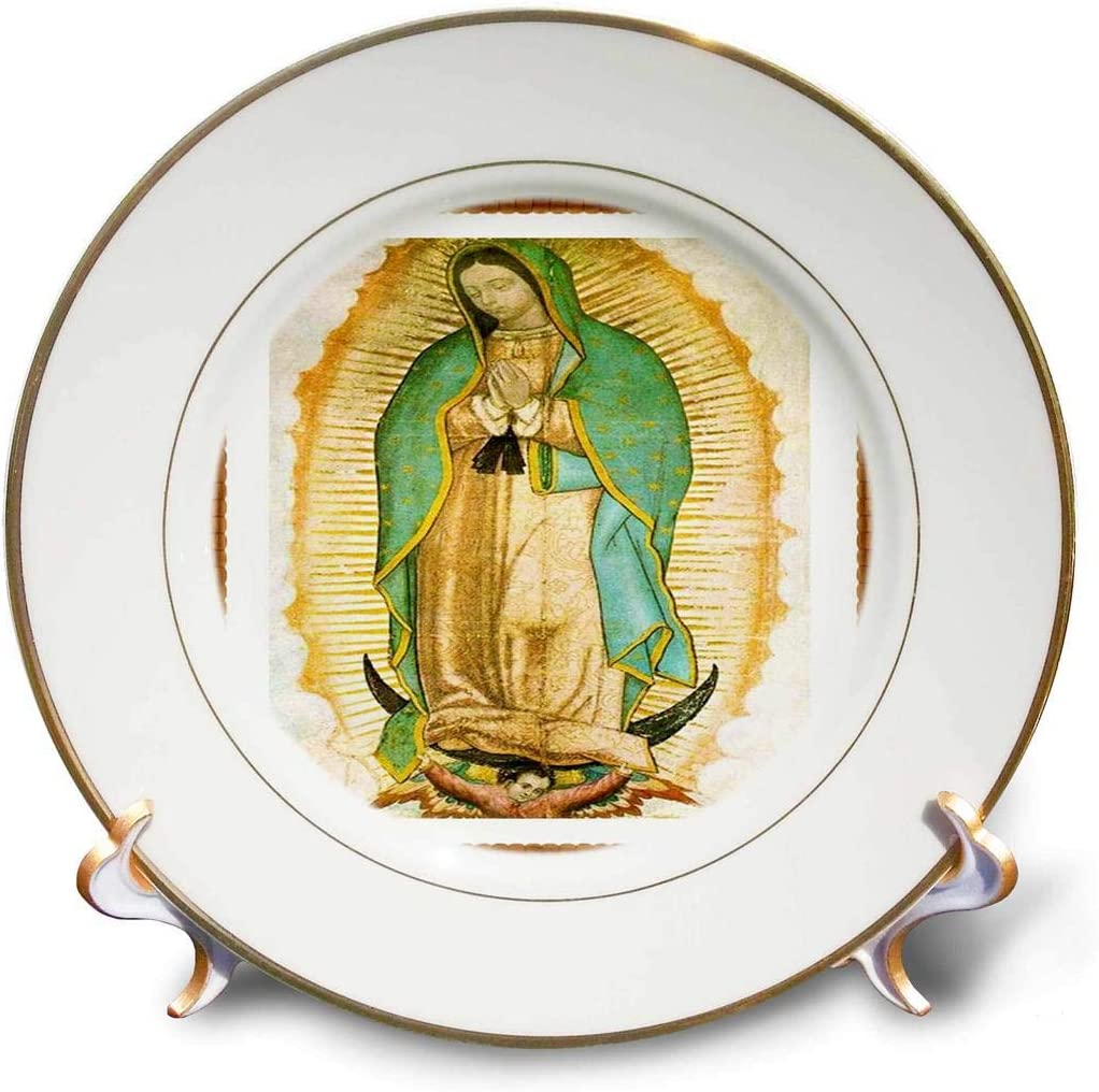 3dRose Photo of Painting Plat Our Max 81% OFF Guadalupe-Porcelain Lady Outlet ☆ Free Shipping