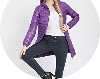 Winter Long Coat Women Down Coats Jackets Long Sleeve Elegant Duck Down Slim