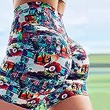bayrick Leggins Deportivos Mujer Cintura Alta,Verano Nuevo Impresión Pantalones de Yoga Femenina Cintura Alta Fitness Deportes Pantalones Cortos-Color_3XL