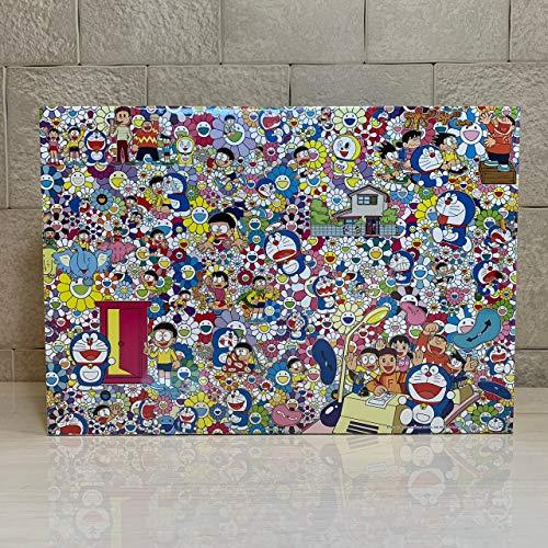 2017 ドラえもん展 六本木 ジグソーパズル 1000pcs size 73.5cm×51cm TAKASHI MURAKAMI FOR THE DORAEMON E...