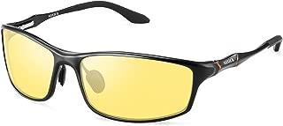 SOXICK HD Night Vision Driving Anti-Glare Glasses for Men Women Rainy Safe Polarized Fashion Sunglasses