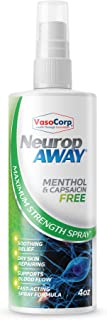 VasoCorp NeuropAWAY Neurop Pain Relief Spray | 4.0 oz Menthol and Capsaicin Free | Nerve Pain Relief and neurop Pain Relief for feet, neurop Treatment for Burning Numbness Pain in Legs