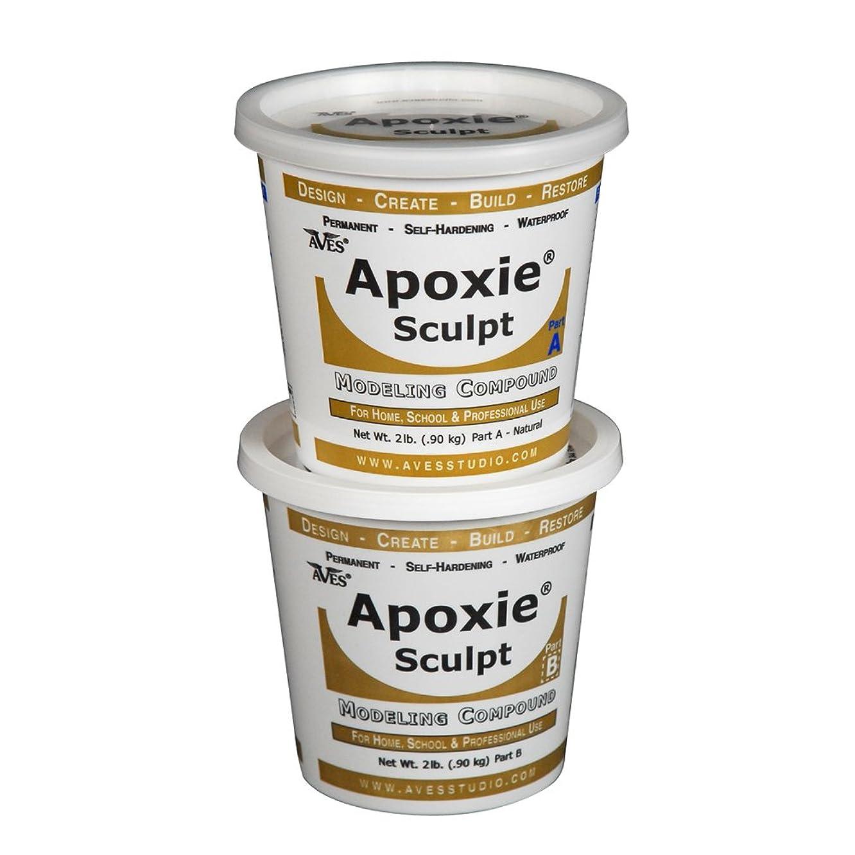 Apoxie Sculpt 4 lb. Natural, 2 Part Modeling Compound (A & B)