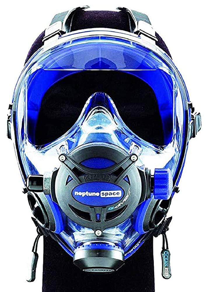 Ocean gift Reef Neptune Space Free Shipping New G Full Cobalt Face L M Mask