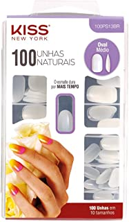 Kiss K 100 Nails - Active Oval 100PS13C, Active Oval, 68 count