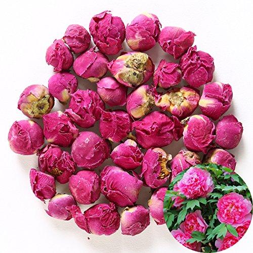 TooGet Duftende Natürliche Pfingstrose Ball Paeonia Lactiflora Getrocknete Pfingstrose Blumen Großhandel, Bestnote - 115g