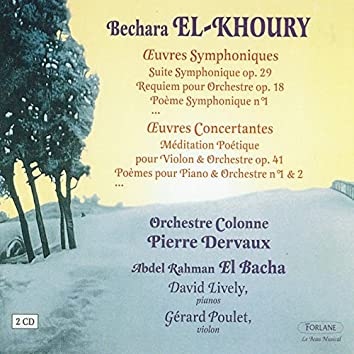 El-Khoury : Oeuvres symphoniques - Oeuvres Concertantes