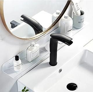 CGLOVEWYL Salle de Bain étagère de Rangement Robinet Support Mural Douche shampooing Savon cosmétique Organisateur Titulai...