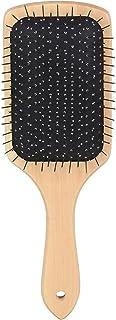 MISS & MAM Anti-Bacterial Bamboo Hair Brush anytime Styling - Detangling Hair Comb for Men & Women
