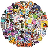 EKKONG 100 Pcs Among Us Pegatinas,Impermeable Pegatinas Stickers Pegatina de Vinilo para Laptop, Motocicleta, Bicicleta, TeléFono, Ordenador, Parachoques de Coche, CalcomaníA para Equipaje