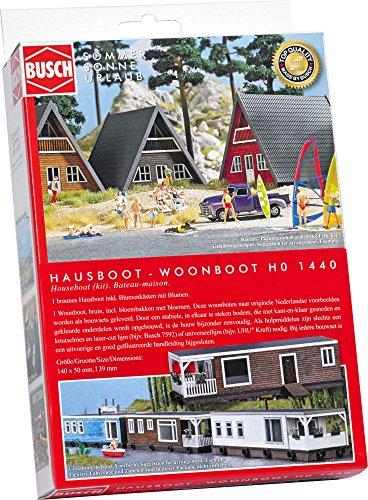 Busch 1440 – Maison Bateau, véhicule, Marron