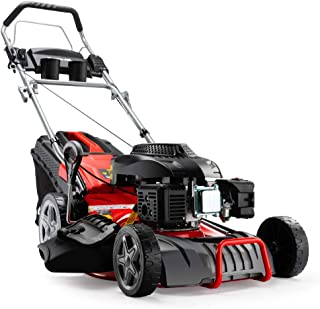 "Baumr-AG 780SX 18"" 220cc Self-Propelled 4-Stroke 4in1 Petrol Steel Deck Lawnmower"