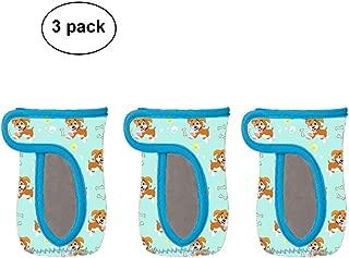 3 Pack Neoprene Glass Baby Bottle Sleeve Baby Bottle Cover Jacket Bag for 8 oz Avent