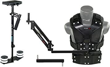 FLYCAM 5000 Camera Stabilizer with Comfort Arm and Vest + FREE Arm Support Brace & Table Clamp (FLCM-CMFT-KIT)  Stabilization System for DSLR Video camcorders up to 5kg/11lbs