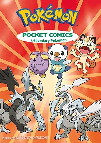 Pokémon Pocket Comics: Legendary Pokemon TP: Legendary Pokémon