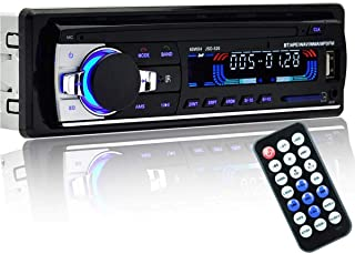 Car Radio Stereo Player Bluetooth Phone AUX-IN MP3 FM/USB/1 Din/remote control 12V Car Audio