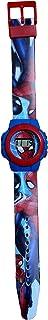 Reloj infantil de cuarzo con motivo de Spiderman Marvel Comics Civil War.