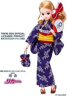 リカちゃん 浴衣 東京2020 オリンピックエンブレム