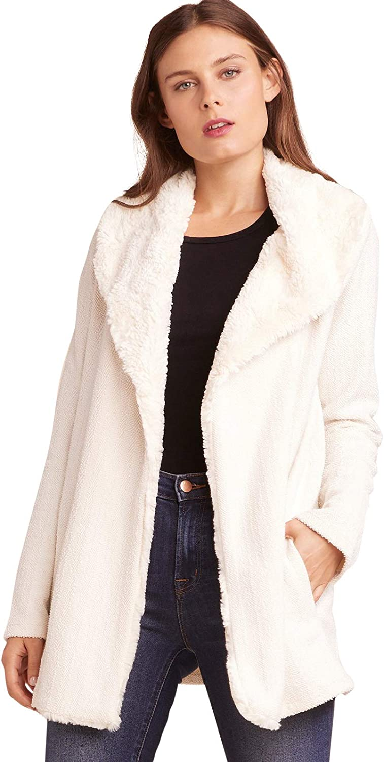 JACK Women's Late Nights French Terry Jacket with Wubby Collar