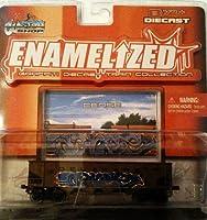 Enamelized Graffiti Diecast Train Collection-Delaware by Maisto