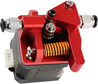 Homyl Dual Gear Extruder, Works with CR-10S PRO Ender-3, Upgraded Aluminum Drive Feed for 3D Printer