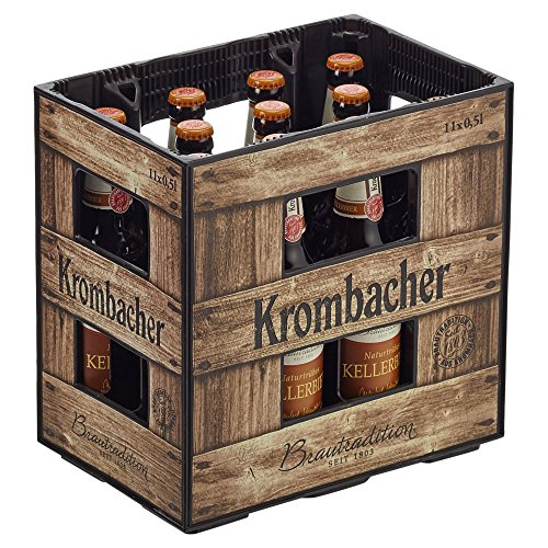 Krombacher Naturtrübes Kellerbier MEHRWEG (11 x 0.5 l)