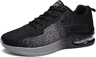 Alinb Running Shoes for Mens Womens Walking Shoes Air Cushion Sneakers Fitness Athletic Tennis Outdoor Sport Shoes