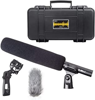 Fomito Deity V-mic D3 Super-Cardioid Shotgun Microphones 50HZ ~ 20KHZ Low Noise Professional Micro for Cameras Ipads Androids and iPhones