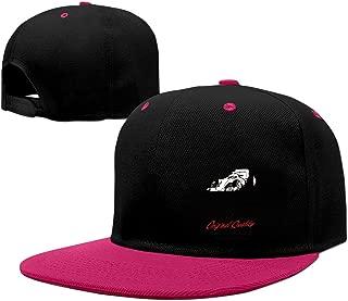 Canada Racing Adjustable Hard Panel Snapback Hat Red