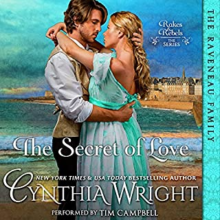 The Secret of Love audiobook cover art