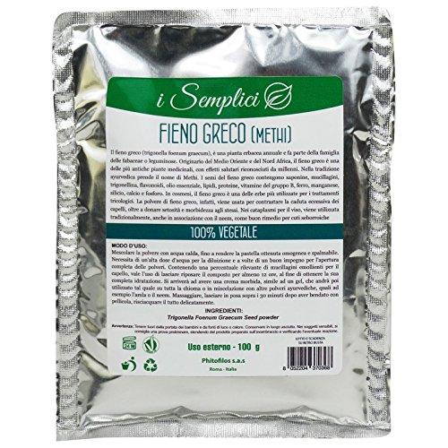 PHITOFILOS Poudre de Fenugrec Pure Renforce et adoucit les cheveux- Yumi Bio Shop