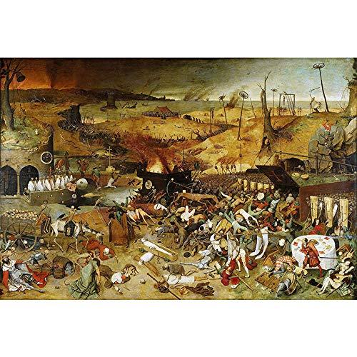 Triunfo de la Muerte Juego de Rompecabezas: Rompecabezas de 1000 Piezas