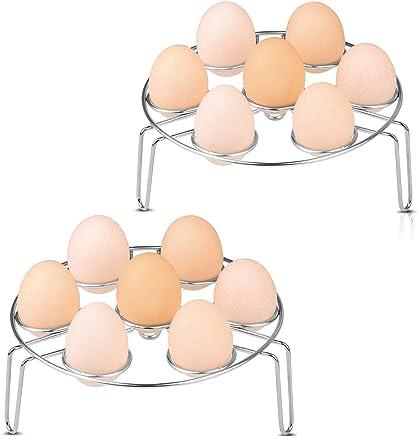 17,5 x 17,5 x 26 cm Schwarz Ei Display Halter K/üche Speicher platzsparend Eisen Kunst Spirale Design Korb Helter Skelter Ei Halter Spirale Ei Rack
