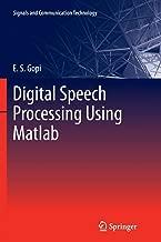 Digital Speech Processing Using Matlab