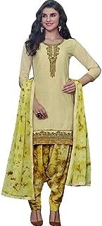 Ready to Wear Patiala Salwar Embroidered Cotton Salwar Kameez Suit Indian Dress