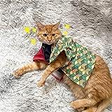 鬼滅の刃 ペット服 富冈義勇 犬服 猫服 コスプレ 可愛い ペット 衣装 着物 コスプレ 仮装 コスチューム かわいい おしゃれ