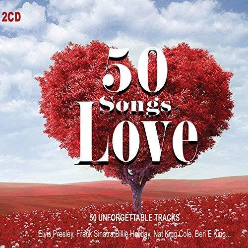 2 CD 50 Canzoni D'Amore. Love Music Originali e versioni non originali strumentali