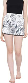 oxolloxo Women's Polyester Animal Print Nightwear Shorts