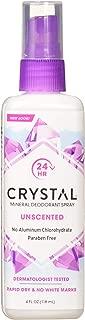 Crystal Body Deodorant Spray-4 fl oz, 2 pack