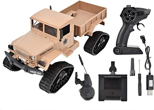 te hará satisfecho Camión Militar RC, 2.4G 1 1 1 16 RC Camión de Control Remoto Crawler Vehículo de Jjuguete Modelo(Tipo de cámara)  mejor opcion