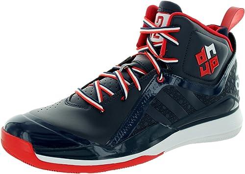 Scarle ftwwht Hauszapatos de Baloncesto Adidas D Howard 5 Conavy 8 con Nosotros
