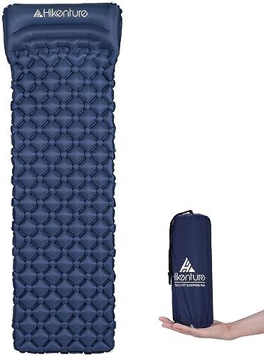 Hikenture Ultralight Sleeping Mat | Backpacking Sleeping Pad-Compact Inflatable Camping Air Mattress Pad for Camping,...