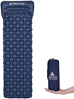 Hikenture Ultralight Sleeping Mat | Backpacking Sleeping Pad-Compact Inflatable Camping Air Mattress Pad for Camping,Sleep...