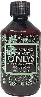 Onlys Botanic Champu Natural Hidratante y Antiencrespamiento con 70% Aloe Vera y Ginseng Sin Sulfatos ni Siliconas ni Par...