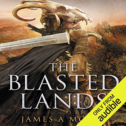 The Blasted Lands audiobook cover art